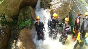 Canyoning-Athens-Canyoning at Kallithea Gorge near Athens-5