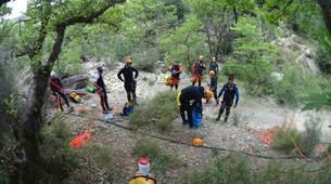 Canyoning-Athens-Canyoning at Kallithea Gorge near Athens-3