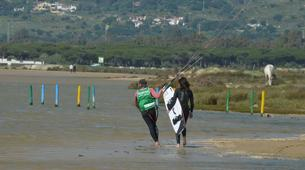 Kitesurfing-Tarifa-Private and semi private kitesurfing lessons in Playa de los Lances-3