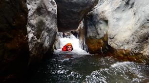 Canyoning-Cirque de Cilaos-Bras Rouge canyon in Cirque of Cilaos, Reunion-5