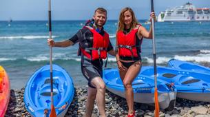Sea Kayaking-Los Cristianos, Tenerife-Kayaking and snorkeling with turtles in Los Cristianos, Tenerife-5