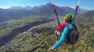 Paragliding-Brig-Glis-Summer Tandem Paragliding in Brig-Glis-8