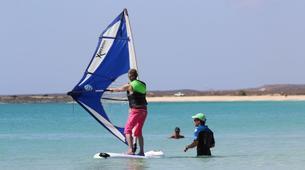 Windsurfing-Sal-Windsurfing lessons near Santa Maria, Cape Verde-2
