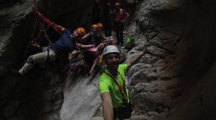 Canyoning-Athens-Canyoning at Kallithea Gorge near Athens-4