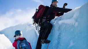 Randonnée glaciaire-Jondal-Blue ice hike on the Juklavass Glacier-1