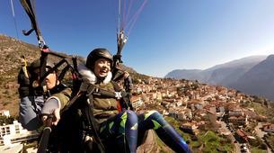 Paragliding-Arachova-Tandem paragliding flight in Arachova, Greece-2