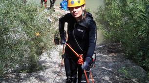Canyoning-Athens-Canyoning at Kallithea Gorge near Athens-1