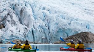 Randonnée glaciaire-Rosendal-Kayaking and glacier hike on the Møsevass Glacier-2