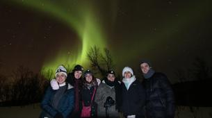 Snowshoeing-Tromsø-Snowshoeing with Northern Lights and Overnight at Polar Cabin, near Tromsø-5