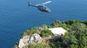 Scenic Flights-Paihia-Helicopter Landing on Hole in the Rock, Bay of Islands-3