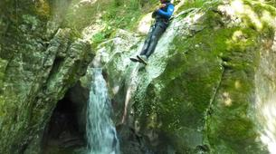 Canyoning-Annecy-Canyon de la Cascade d'Angon à Annecy-2
