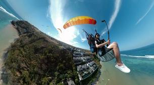 Parapente-Kuta Selatan-Tandem Paragliding flight in Benoa, Bali-3