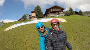 Paragliding-Brig-Glis-Summer Tandem Paragliding in Brig-Glis-9