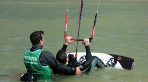 Kitesurfing-Tarifa-Private and semi private kitesurfing lessons in Playa de los Lances-5