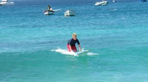 Surfing-Sal-Beginner's Surfing lessons in Santa Maria, Cape Verde-5