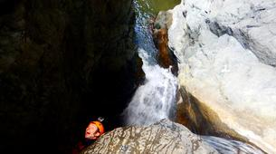 Canyoning-Cirque de Cilaos-Bras Rouge canyon in Cirque of Cilaos, Reunion-3