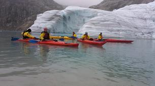 Randonnée glaciaire-Rosendal-Kayaking and glacier hike on the Møsevass Glacier-3