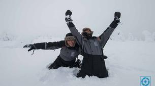 Raquette à Neige-Rovaniemi-Lapland wilderness snowshoe excursion from Rovaniemi-3