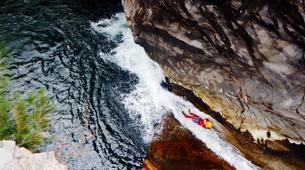 Canyoning-Cirque de Salazie, Hell-Bourg-Canyon Trou Blanc à Salazie, île de la Réunion-4
