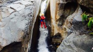 Canyoning-Cirque de Cilaos-Bras Rouge canyon in Cirque of Cilaos, Reunion-6