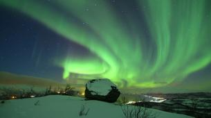 Snowshoeing-Tromsø-Snowshoeing with Northern Lights and Overnight at Polar Cabin, near Tromsø-2