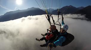 Paragliding-Brig-Glis-Summer Tandem Paragliding in Brig-Glis-7