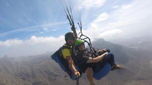 Paragliding-Costa Adeje, Tenerife-Standard paragliding tandem flight over Adeje-5