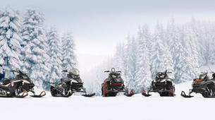 Snowmobiling-Rovaniemi-Snowmobile Session in Lapland-5