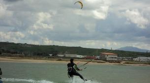 Kitesurfing-Tarifa-Private and semi private kitesurfing lessons in Playa de los Lances-6