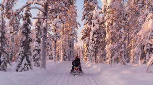 Snowmobiling-Rovaniemi-Snowmobile Safari in Rovaniemi-7
