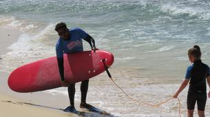 Surfing-Sal-Beginner's Surfing lessons in Santa Maria, Cape Verde-3