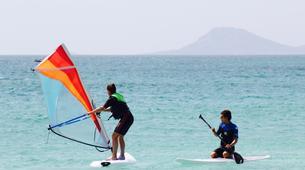 Windsurfing-Sal-Windsurfing lessons near Santa Maria, Cape Verde-5