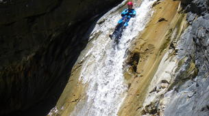 Canyoning-Cirque de Cilaos-Bras Rouge canyon in Cirque of Cilaos, Reunion-4