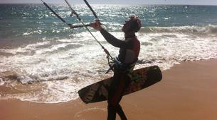 Kitesurfing-Tarifa-Private and semi private kitesurfing lessons in Playa de los Lances-7