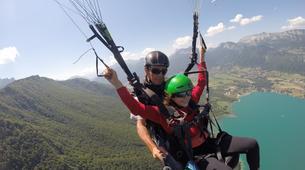 Paragliding-Annecy-Tandem paragliding flight in Annecy-2