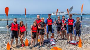 Sea Kayaking-Los Cristianos, Tenerife-Kayaking and snorkeling with turtles in Los Cristianos, Tenerife-1