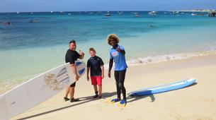 Surfing-Sal-Beginner's Surfing lessons in Santa Maria, Cape Verde-4