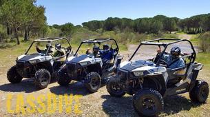 Quad biking-l'Estartit-Buggy Tour in the Gavarres Mountains near Girona-5