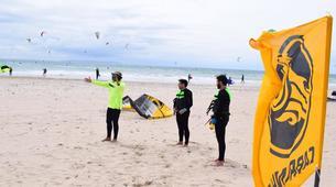 Kitesurfing-Tarifa-Group kite coaching in Tarifa-1
