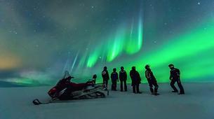 Snowmobiling-Rovaniemi-Northern Lights Snowmobile Safari in Rovaniemi-6