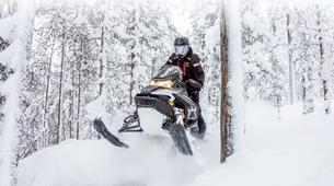 Snowmobiling-Rovaniemi-Northern Lights Snowmobile Safari in Rovaniemi-4