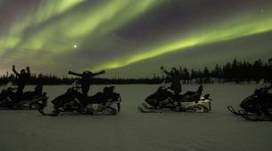 Snowmobiling-Rovaniemi-Northern Lights Snowmobile Safari in Rovaniemi-1