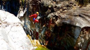 Canyoning-Cirque de Salazie, Hell-Bourg-Canyon Trou Blanc à Salazie, île de la Réunion-1