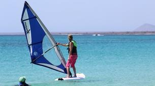 Windsurfing-Sal-Windsurfing lessons near Santa Maria, Cape Verde-4