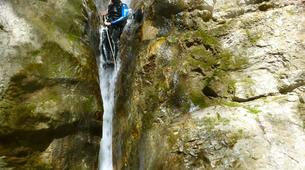 Canyoning-Annecy-Canyoning at Montmin Gorge near Annecy-6