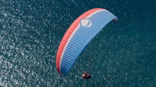 Parapente-Costa Adeje, Tenerife-High performance tandem paragliding flight over Adeje-4
