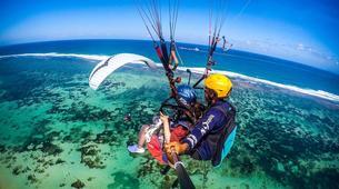 Parapente-Kuta Selatan-Tandem Paragliding flight in Benoa, Bali-1
