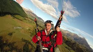 Paragliding-Annecy-Tandem paragliding flight in Annecy-3