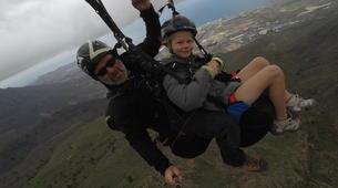 Paragliding-Costa Adeje, Tenerife-Standard paragliding tandem flight over Adeje-3