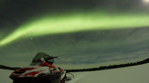 Snowmobiling-Rovaniemi-Northern Lights Snowmobile Safari in Rovaniemi-3